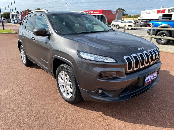 2018 Jeep Cherokee Longitude KL MY19 4X4 On Demand Grey