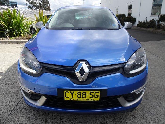 2014 Renault Megane GT-Line III B95 Phase 2 Blue