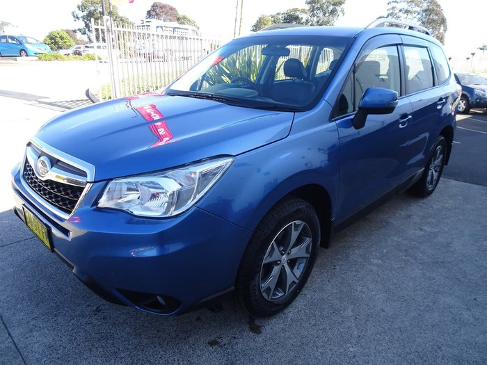 2015 Subaru Forester 2.5i-L S4 MY15 Four Wheel Drive Blue
