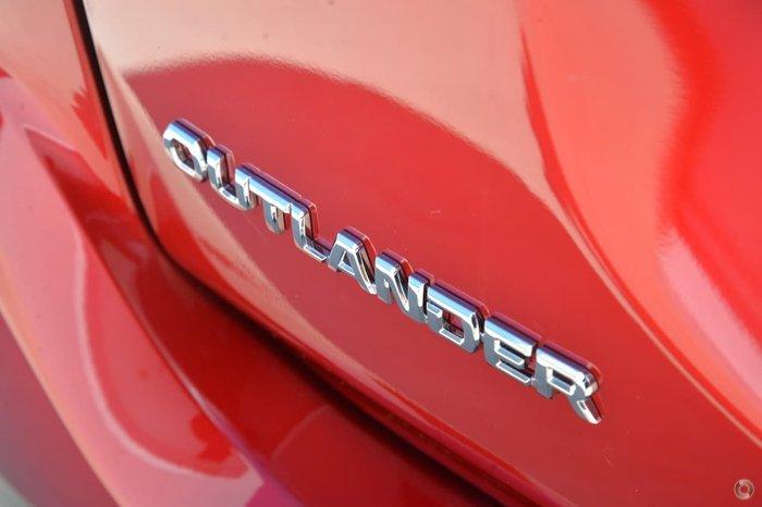 2020 Mitsubishi Outlander ES ZL MY20 Red