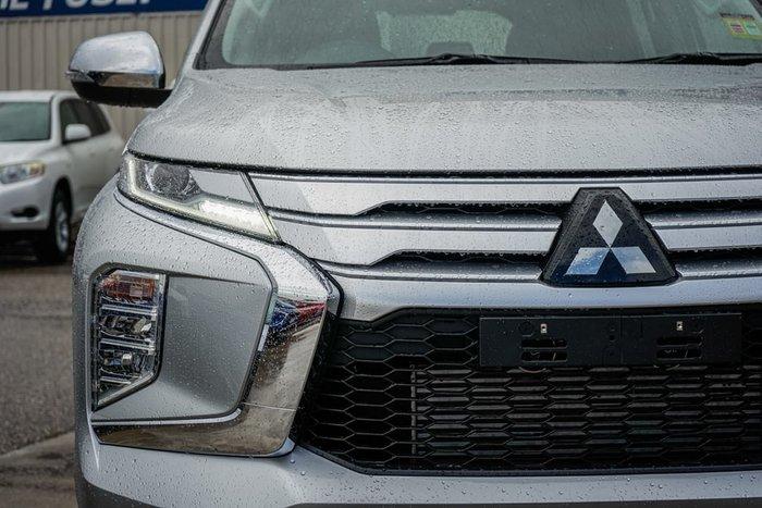 2020 Mitsubishi Pajero Sport GLX QF MY20 4X4 Dual Range Silver