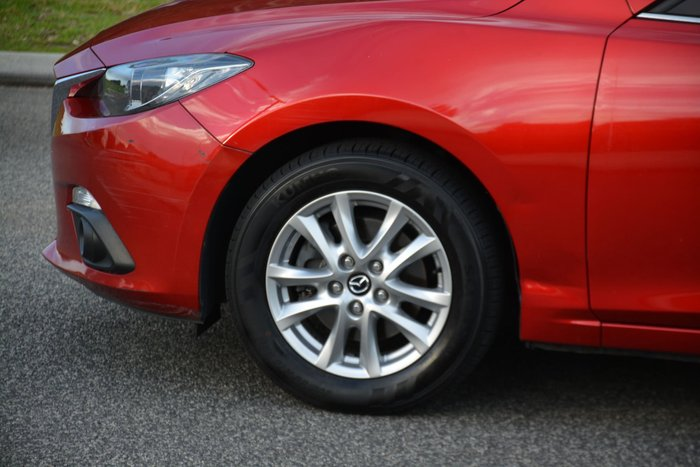 2014 Mazda 3 Maxx BM Series Red