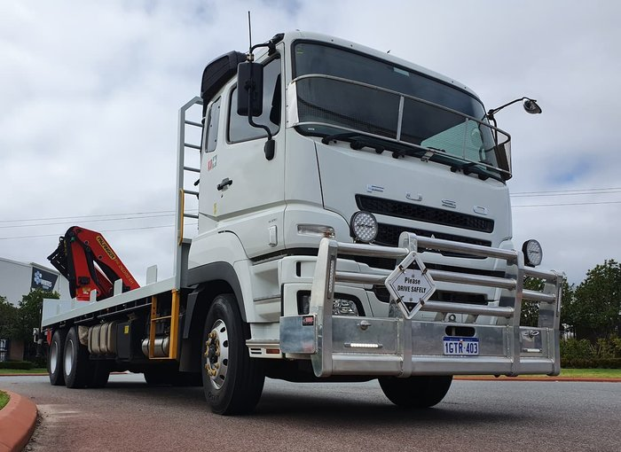 2018 FUSO FV54 null null WHITE