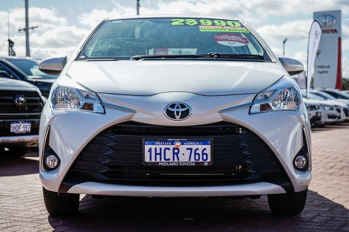 2019 Toyota Yaris SX NCP131R White