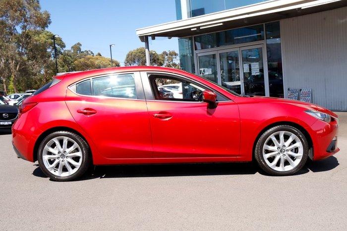 2014 Mazda 3 SP25 BM Series Red