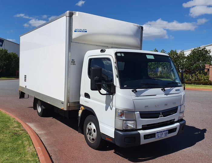 2017 FUSO 515 CANTER WHITE