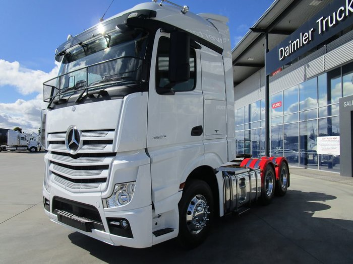 2017 MERCEDES-BENZ ACTROS 2653 null null WHITE
