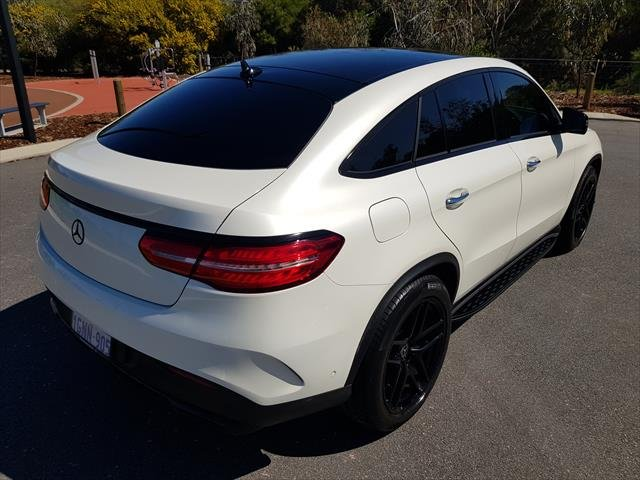 2018 Mercedes-Benz GLE-Class GLE350 d C292 Four Wheel Drive Designo Diamnod Whit