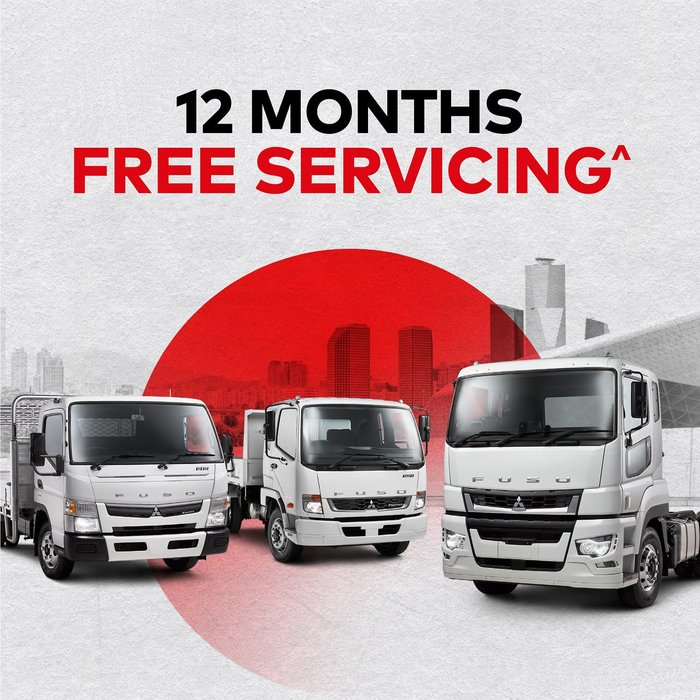 2020 FUSO CANTER 515 WIDE FEB21ER3SFBC null null White