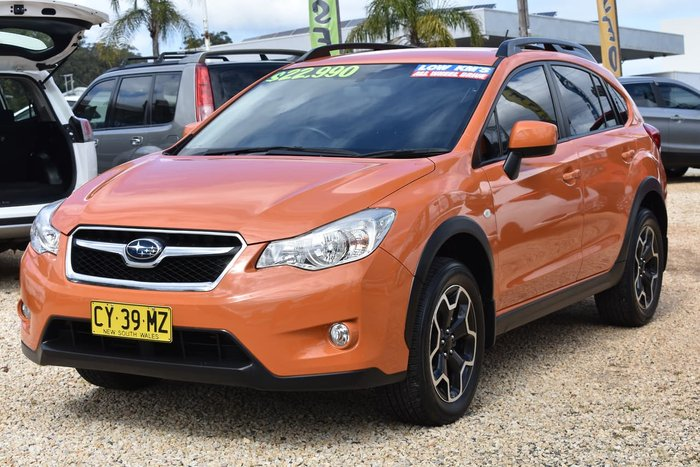 2015 Subaru XV 2.0i G4X MY14 Four Wheel Drive Orange