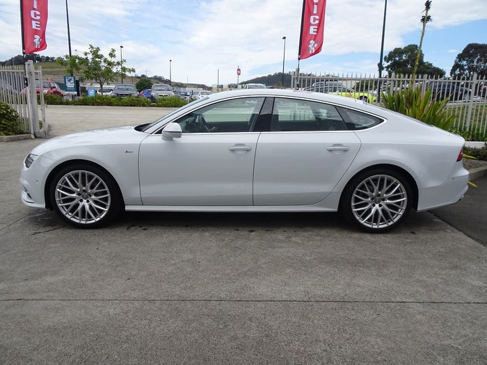 2016 Audi A7 S Line 4G MY16 Four Wheel Drive White