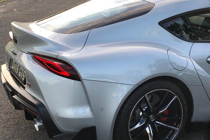 2019 Toyota Supra GR GTS A90 Silver