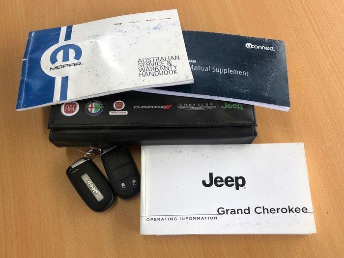 2016 Jeep Grand Cherokee Laredo WK MY15 4X4 Dual Range Silver