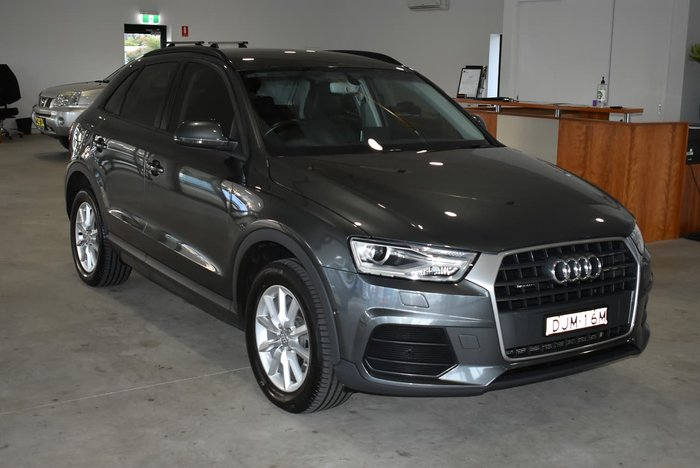 2015 Audi Q3 TDI 8U MY15 Four Wheel Drive Grey