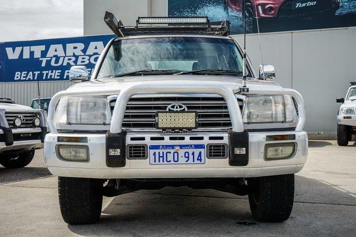 2003 Toyota Landcruiser Sahara UZJ100R 4X4 Constant Silver