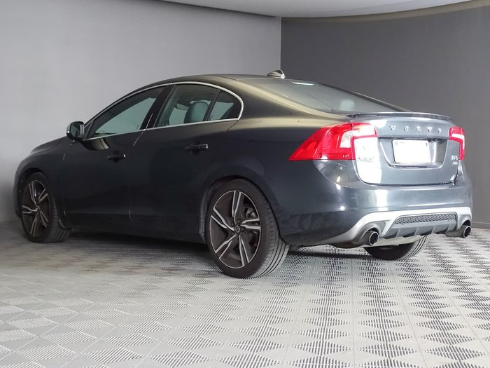 2017 Volvo S60 T6 R-Design MY17 Four Wheel Drive Grey