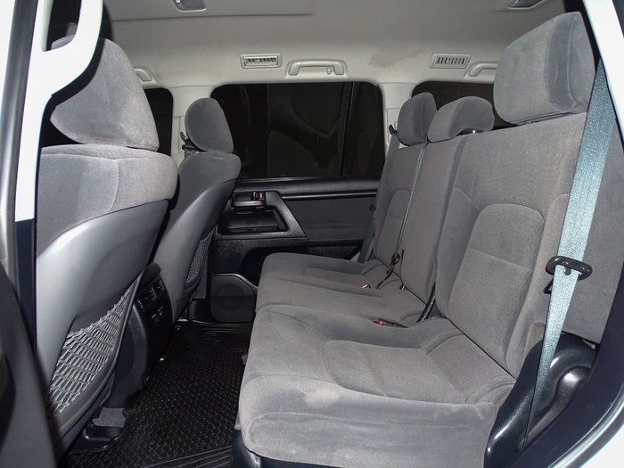 2016 Toyota Landcruiser GXL VDJ200R 4X4 Dual Range White