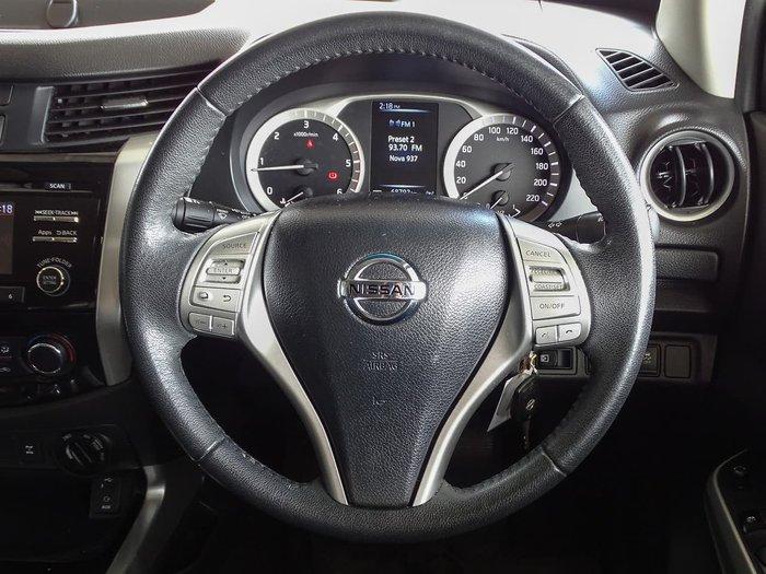 2016 Nissan Navara ST D23 4X4 Dual Range Silver