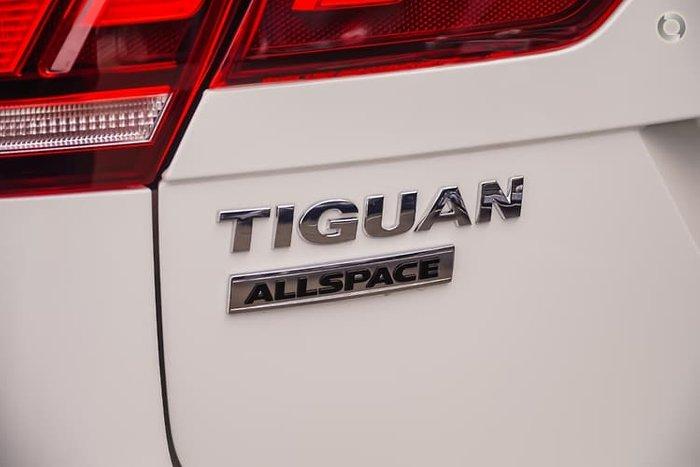 2020 Volkswagen Tiguan 132TSI Comfortline Allspace 5N MY20 Four Wheel Drive White
