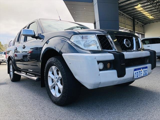 2007 Nissan Navara ST-X D40 4X4 Grey