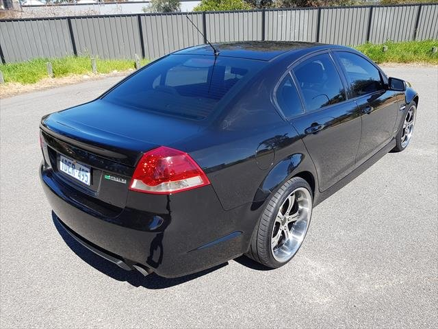 2008 Holden Commodore SV6 VE Black