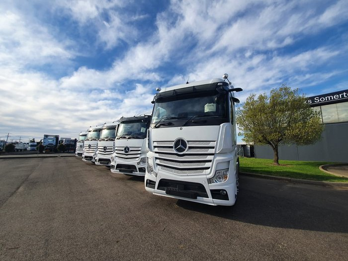 2020 MERCEDES-BENZ ACTROS MP5 2658 LS/33 6X4 null null null