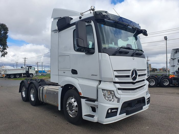 2019 MERCEDES-BENZ ACTROS 2651 LS/33 6X4 null null null