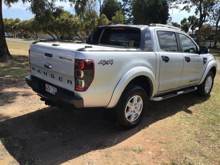 2014 Ford Ranger Wildtrak PX 4X4 Dual Range Silver