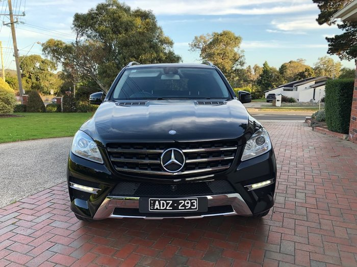 2015 Mercedes-Benz M-Class ML250 BlueTEC W166 MY15 4X4 Constant Black