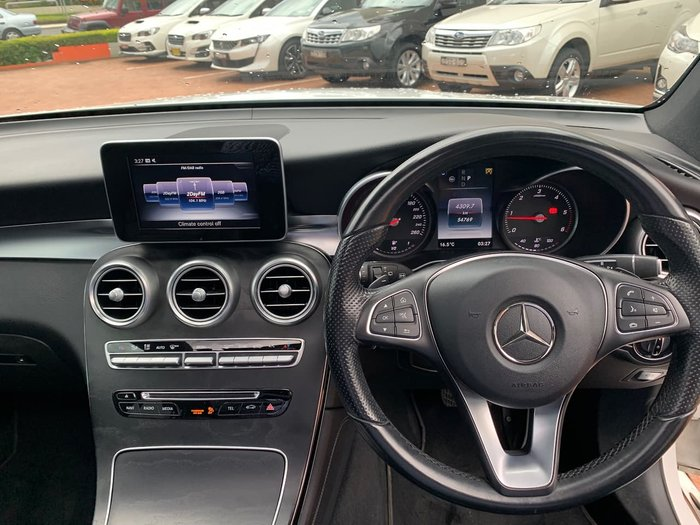 2015 Mercedes-Benz GLC-Class GLC250 d X253 Four Wheel Drive White