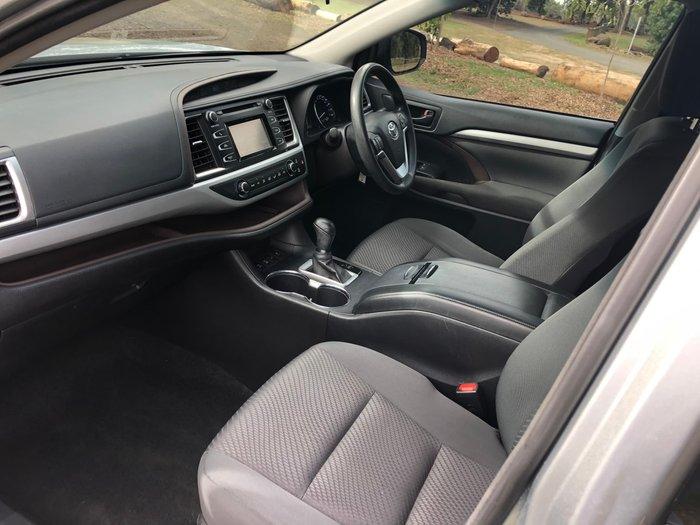2017 Toyota Kluger GX GSU55R Four Wheel Drive Silver