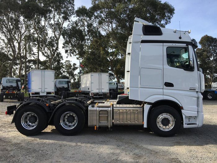 2020 MERCEDES-BENZ ACTROS 2663LS DRIVERS EDITION null null White