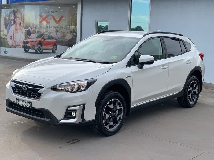 2020 Subaru XV Hybrid G5X MY20 Four Wheel Drive White