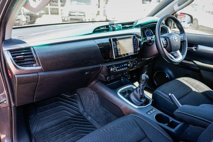 2015 Toyota Hilux SR5 GUN126R 4X4 Dual Range Grey