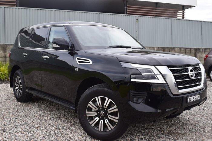 2020 Nissan Patrol Ti Y62 Series 5 MY20 4X4 Dual Range Black