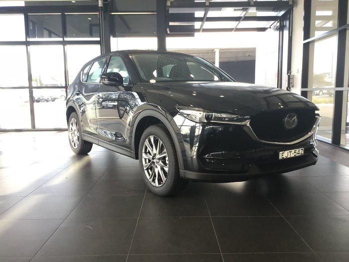2020 Mazda CX-5 Akera KF Series 4X4 On Demand Black