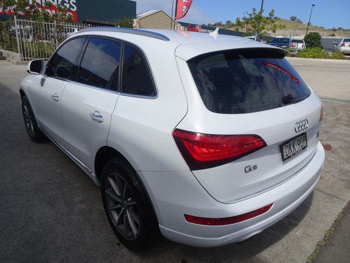 2016 Audi Q5 TDI Sport Edition 8R MY16 Four Wheel Drive White