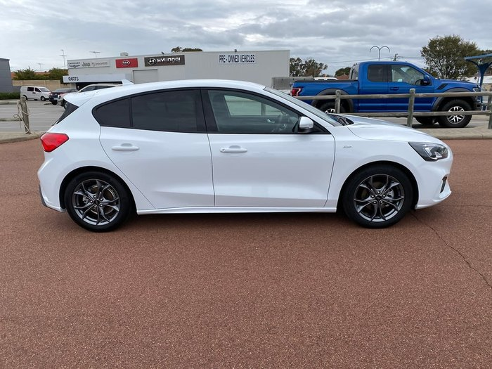 2019 Ford Focus ST-Line SA MY20.25 White