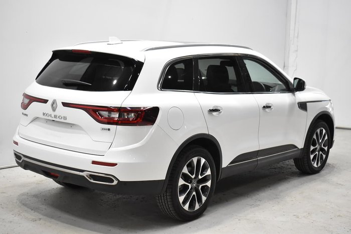 2019 Renault Koleos Intens HZG MY20 Four Wheel Drive White