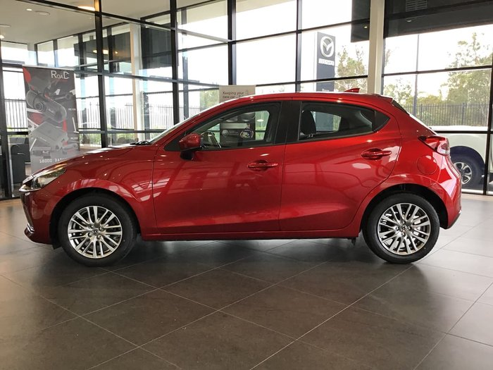 2020 Mazda 2 G15 Evolve DJ Series Red