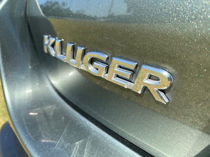2018 Toyota Kluger GXL GSU50R Green