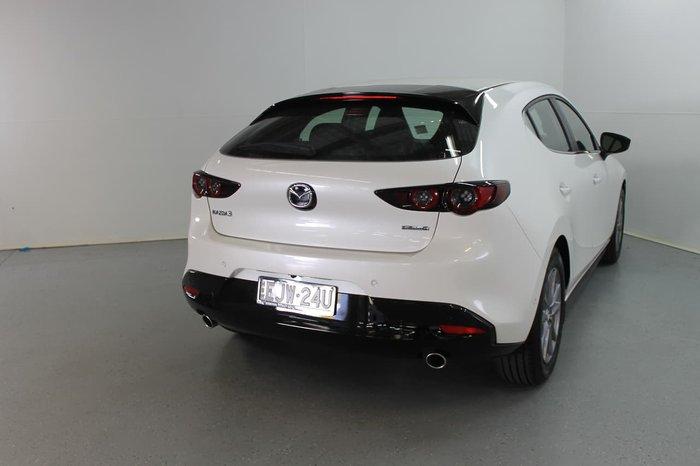 2020 Mazda 3 G20 Pure BP Series White