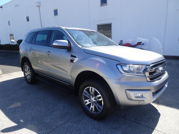 2018 Ford Everest Trend UA MY18 4X4 Dual Range Grey