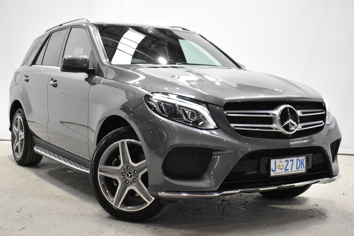 2018 Mercedes-Benz GLE-Class GLE350 d W166 Four Wheel Drive Grey
