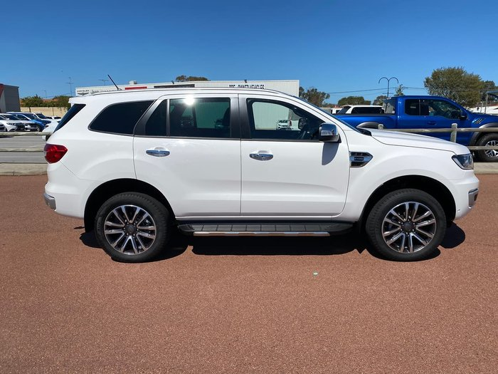 2020 Ford Everest Titanium UA II MY20.25 4X4 Dual Range White