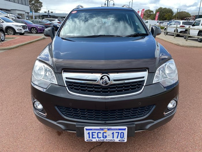 2012 Holden Captiva 5 CG Series II MY12 Black