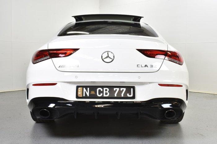 2019 Mercedes-Benz CLA-Class CLA35 AMG C118 Four Wheel Drive White