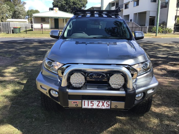 2017 Ford Everest Trend UA MY18 4X4 Dual Range Silver