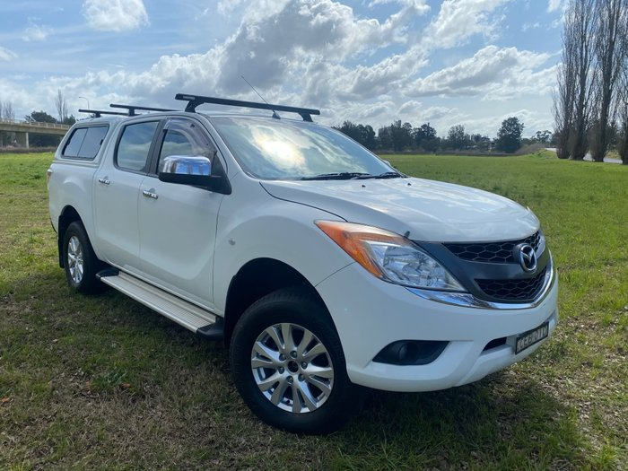 2011 Mazda BT-50 GT UP 4X4 White