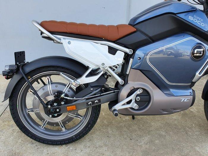 2020 Super Soco TC CAFE RACER Blue
